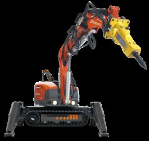 robot wyburzeniowy husqvarna dxr270