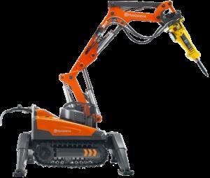 wynajem robotów wyburzeniowych